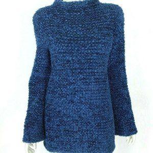 Missoni Royal Blue Glitter Knit Holiday Sweater